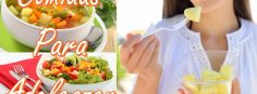 10 comidas ligeras para adelgazar