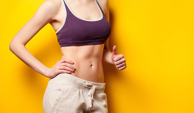 Cómo bajar el abdomen sin dejar de comer