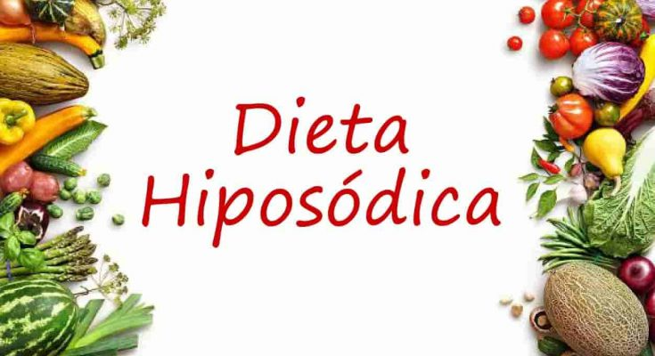 Qué es la dieta hiposódica