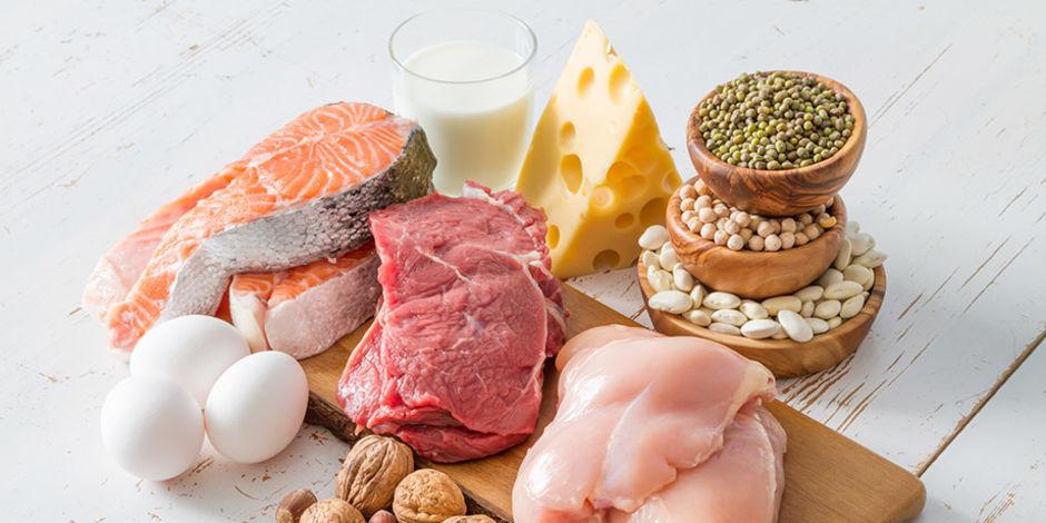 imagen alimentos con proteina