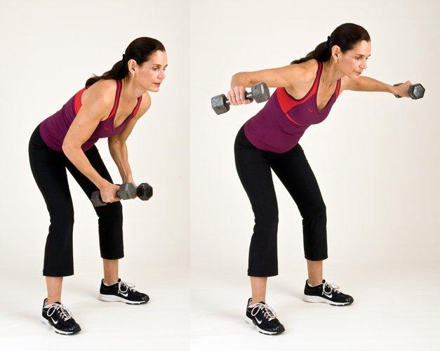 ejercicios para eliminar grasa axilas