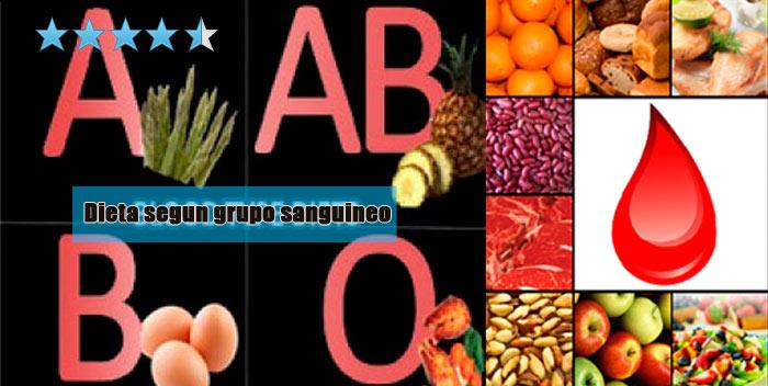 imagen dieta grupo sanguíneo